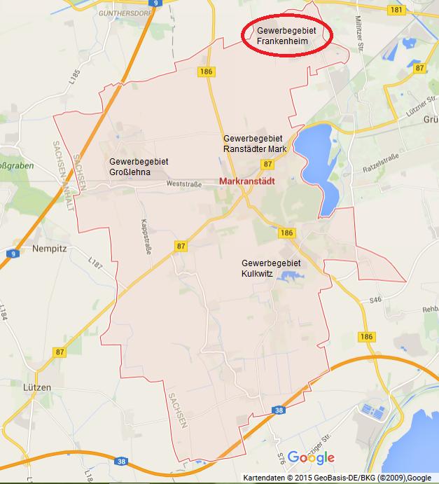 Frankenheim Karte