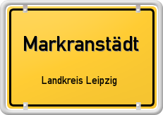 Markranstädt Schild